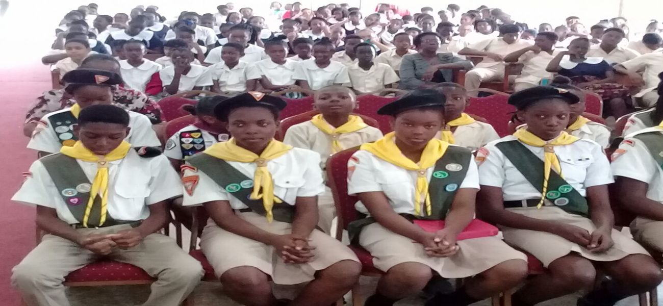 <strong>LAUNCHING OF PATHFINDERS CLUB</strong>  	            <br/>Harmon School of S.D.A.