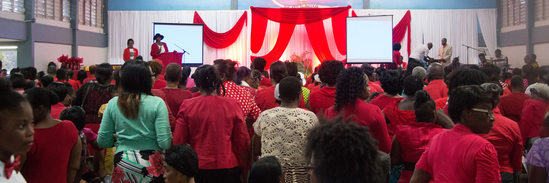 <strong>Women Ministries Convention</strong>  	            <br/>Programme provided for over 200 women by the Tobago Mission.