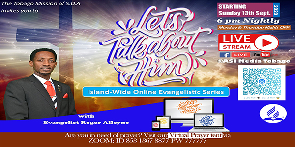 Let's Talk About Him Evangelistic Series