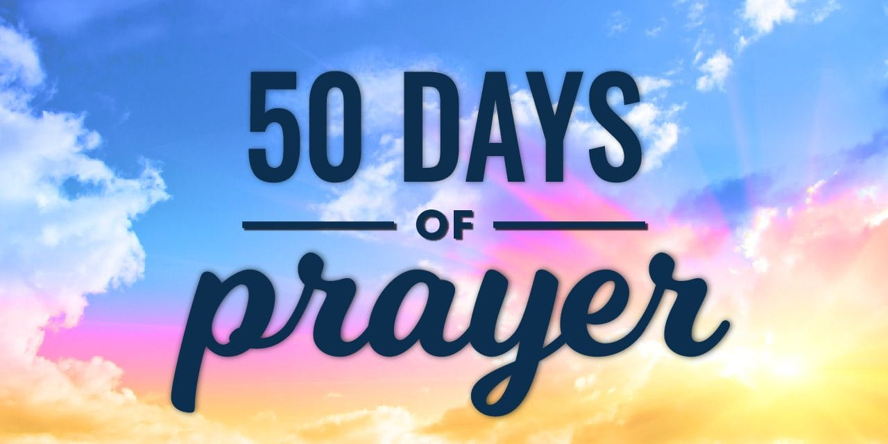 <strong>50 Days of Prayer and Promises</strong>  	            <br/>